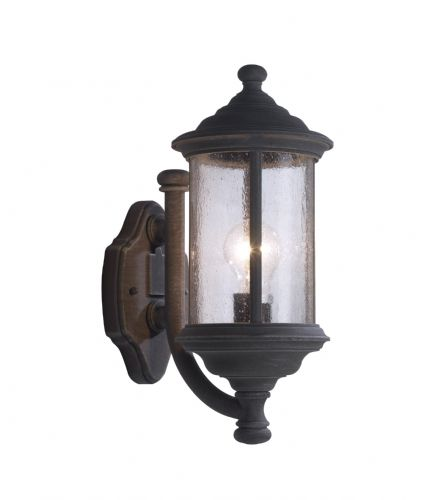 Brompton 1-light Old Iron Double Insulated Outdoor Wall Light  (Double Insulated) BXBRO1661-17